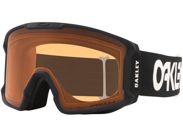 Oakley Line Miner XL Lunettes de ski Homme, factory pilot black/prizm snow persimmon